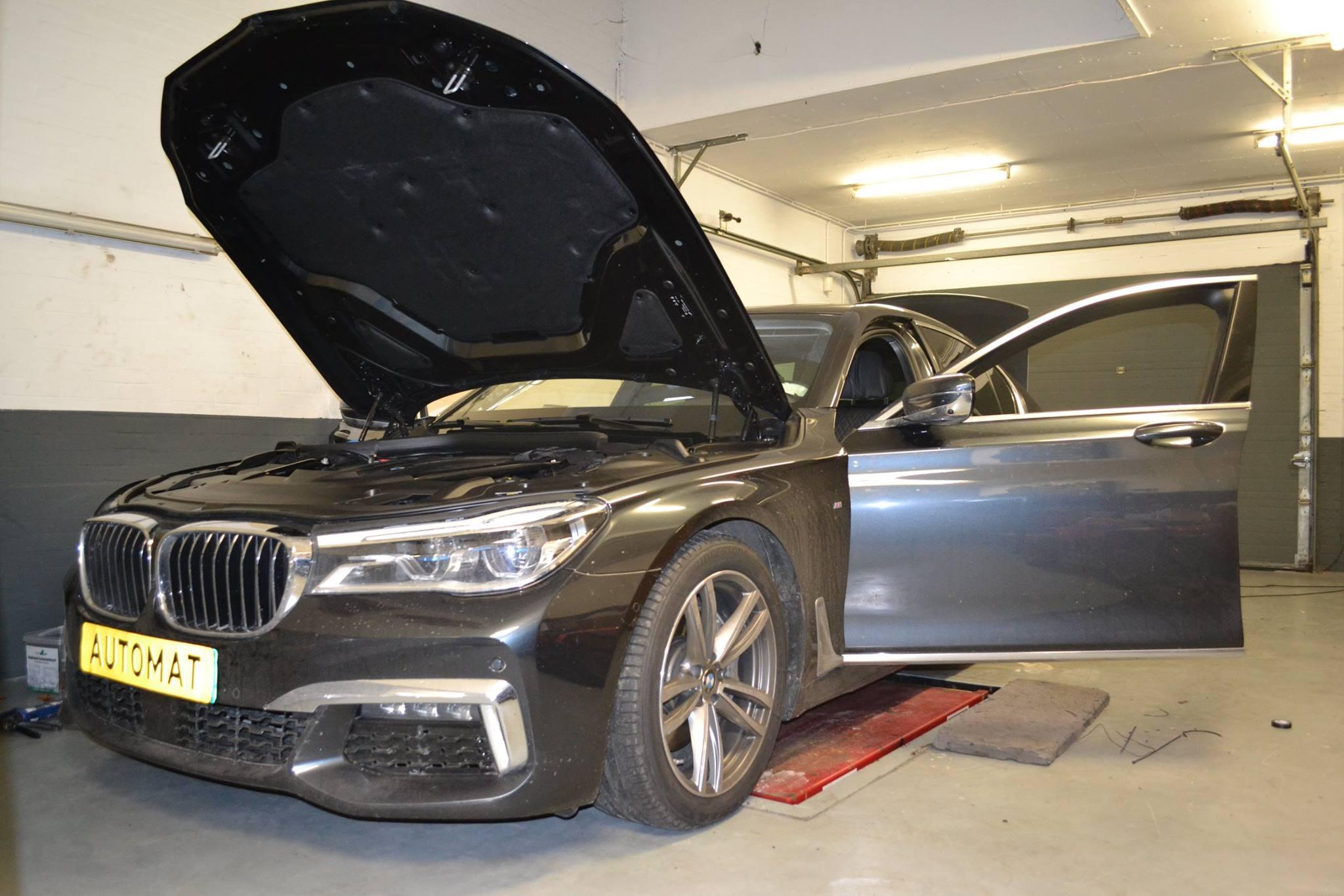 Alarm inbouw BMW 730D Automat Meppel