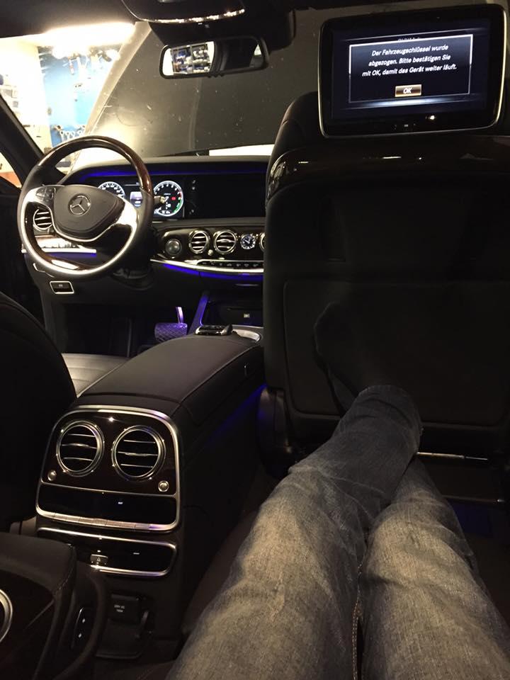 Alarm inbouw Mercedes s500 Automat Meppel(2)