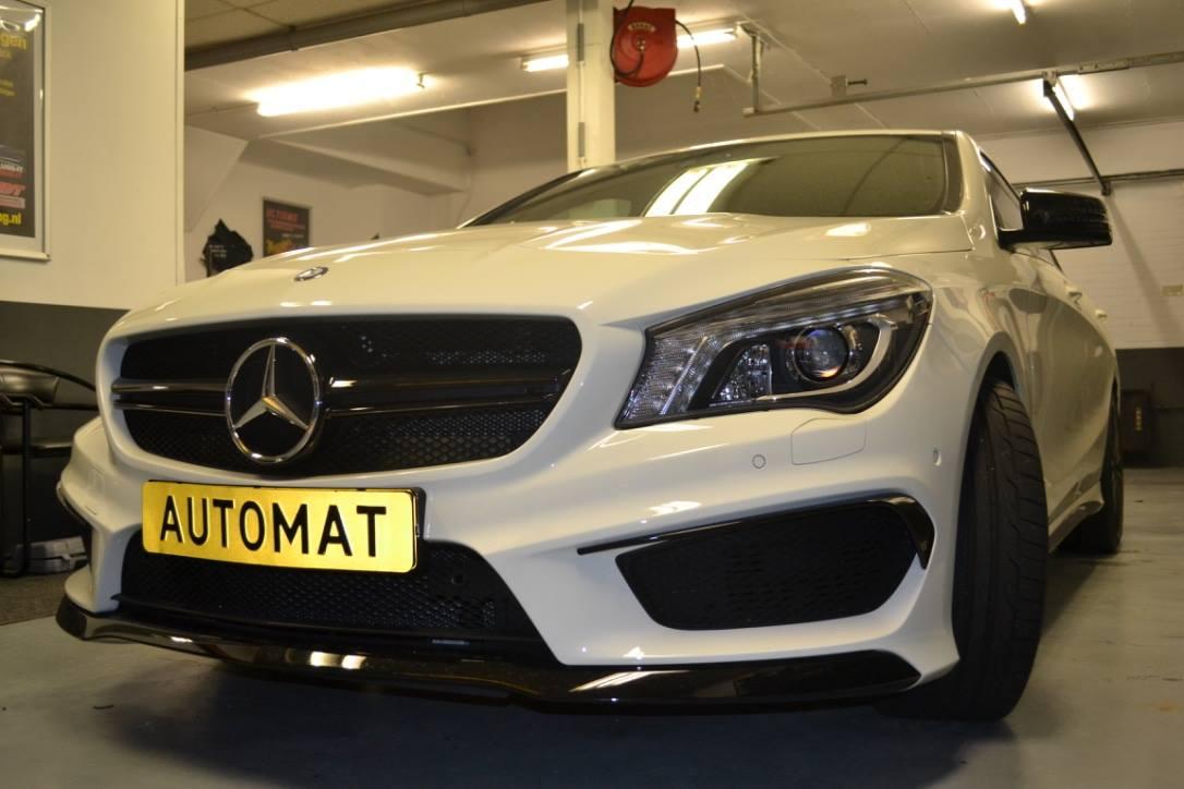 Mercedes CLA45 AMG Inbouw Alarm Automat Meppel