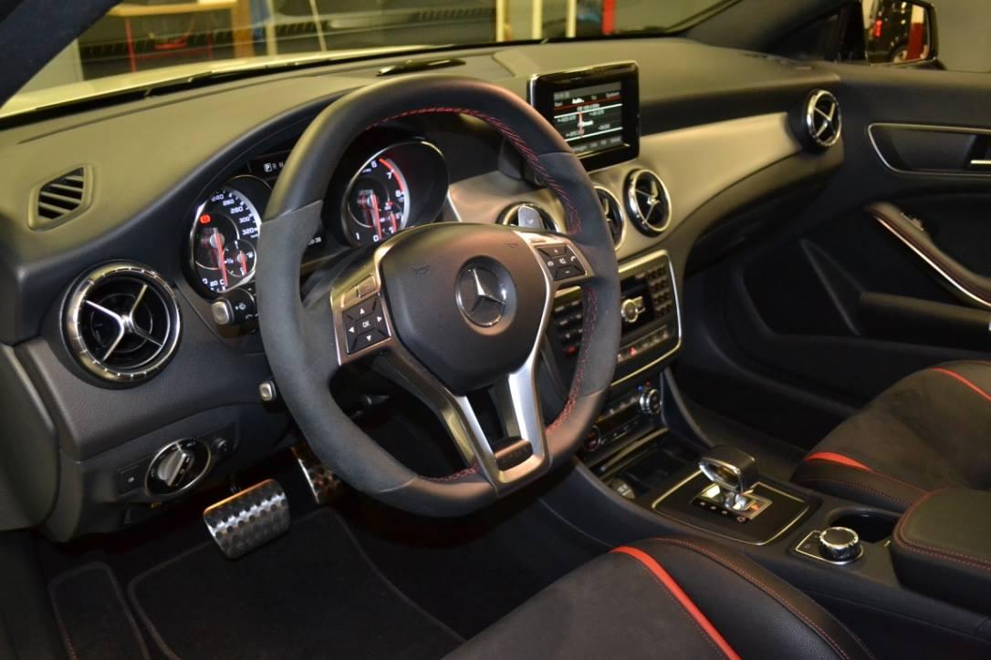Mercedes CLA45 AMG Inbouw Alarm Automat Meppel(2)