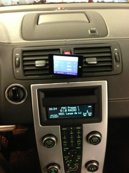 Stinger VIP inbouw Volvo C70 Automat Meppel