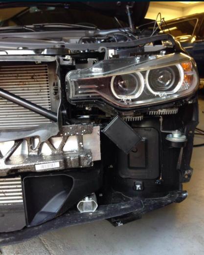 Stinger MPHD antenne inbouw BMW Automat Meppel
