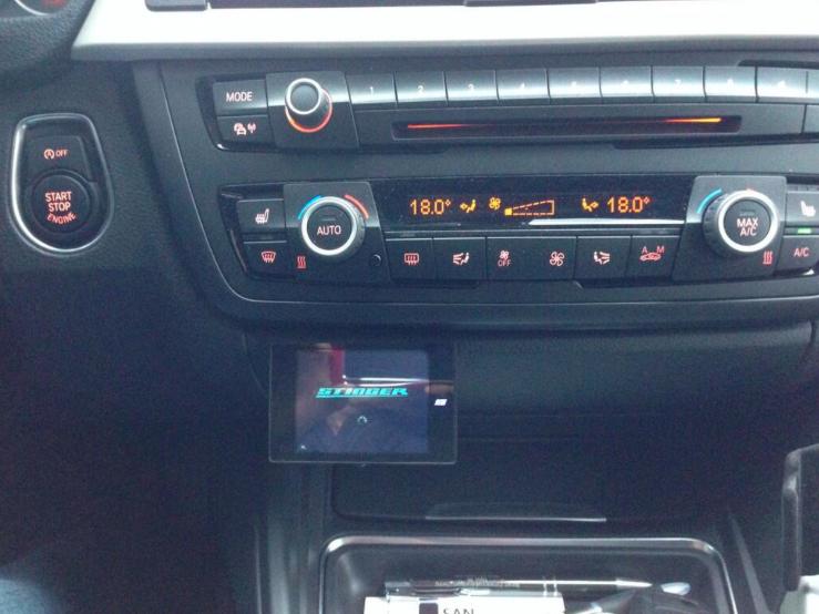 Stinger VIP inbouw BMW Automat Meppel