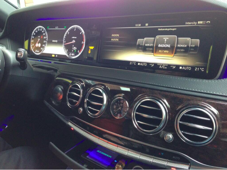 Stinger VIP inbouw Mercedes S klasse Automat Meppel