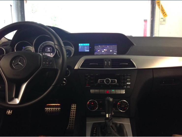 Stinger VIP inbouw Mercedes C klasse Automat Meppel